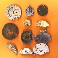 Lot De Divers Mécanismes De Montre Ancienne Pour Pièces Détachées - Watches: Old