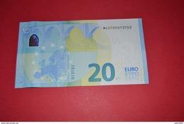 PORTUGAL 20 EURO M004 E1 - DRAGHI - M004E1 - MC2705013702 - UNC - FDS - NEUF - EURO