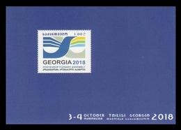 Georgia 2018 Mih. 723 (Bl.83) PostEurop Plenary Assembly MNH ** - Georgia