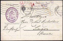 Slovenia Marburg A. D. Drau 1915 / Feldpost, WW1 / K. K. Staatsgymnasium / K. K. Gymnasial Direktion Marburg - 1. Weltkrieg