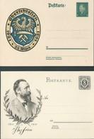 Germania Germany Deutschland 1931 Two Unused Postal Cards - Germany