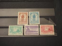 PARAGUAY - 1958 LOYOLA 5 VALORI - NUOVI(++) - Paraguay