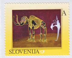 SLOVENIA SLOWENIEN 2013 MAMMOTH MAMMUT ** PERSONALIZED STAMP ** MNH - Prehistorics