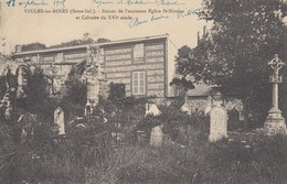 76 - Seine Maritime - Veules-les-Roses - Ruines De L'Ancienne Eglise St-Nicolas - Calvaire Du XVIe.S - Veules Les Roses