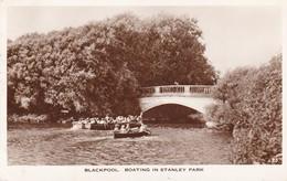 Postcard Blackpool Boating In Stanley Park PU 1959 To Heaton Family Daisy Hill Farm Euxton Chorley My Ref  B12718 - Blackpool