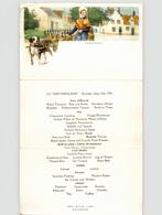 Red Star Line Menu Card Ss Westernland 1931 (4) - Menú