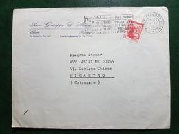 (13405) ITALIA STORIA POSTALE 1967 - 1946-.. République
