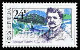 Czech Republic - 2010 - 150 Years Since Birth Of Enrique Vraz, Voyager & Photographer - Mint Stamp - Czech Republic