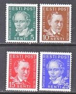 ESTONIA 139-42    **  SCHOLARS - Estonia