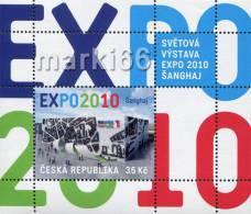 Czech Republic - 2010 - EXPO Exhibition In Shanghai - Mint Souvenir Sheet - Neufs