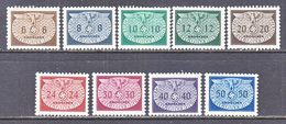 Germany Occupation Poland N O 16-24    ** - Occupation 1938-45