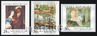 Czech Republic - 2010 - Art On Stamps - Mint Stamp Set - Ungebraucht