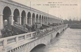 75-PARIS INONDE VIADUC D AUTEUIL-N°2236-F/0049 - Autres