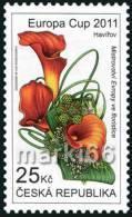 Czech Republic - 2011 - Europa Flower Cup '2011 - Mint Stamp - Czech Republic