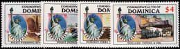 Dominica 1986 Statue Of Liberty Unmounted Mint. - Dominica (1978-...)
