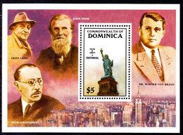 Dominica 1986 Statue Of Liberty Souvenir Sheet Unmounted Mint. - Dominica (1978-...)