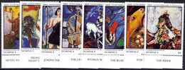 Dominica 1987 Marc Chagall Unmounted Mint. - Dominica (1978-...)