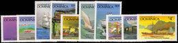 Dominica 1987 Milestones In Transportation Unmounted Mint. - Dominica (1978-...)