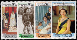 Dominica 1988 Royal Ruby Wedding Unmounted Mint. - Dominica (1978-...)