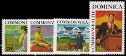 Dominica 1988 J F Kennedy Unmounted Mint. - Dominica (1978-...)