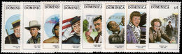 Dominica 1988 Entertainers Unmounted Mint. - Dominica (1978-...)