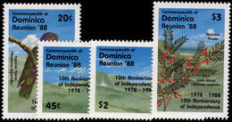 Dominica 1988 Independence Anniversary Unmounted Mint. - Dominica (1978-...)