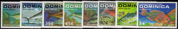Dominica 1988 Game Fish Unmounted Mint. - Dominica (1978-...)