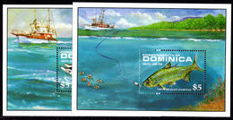 Dominica 1988 Game Fish Souvenir Sheet Unmounted Mint. - Dominica (1978-...)
