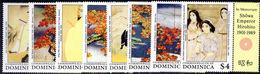 Dominica 1989 Japanese Art. Taikan Unmounted Mint. - Dominica (1978-...)