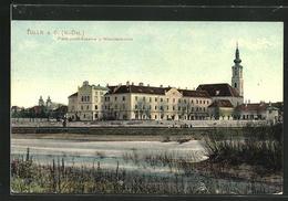 AK Tulln, Franz Josef-Kaserne & Minoritenkirche - Austria