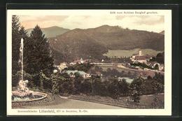 AK Lilienfeld, Stift Vom Schloss Berghof Gesehen - Österreich