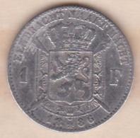 Belgique. 1 Franc 1886 Leopold II, Légende Flamand , En Argent - 07. 1 Franc