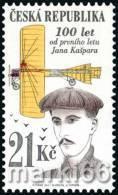 Czech Republic - 2011 - 100 Years Of First Czech Long Distance Flight By Jan Kaspar - Mint Stamp - Nuovi