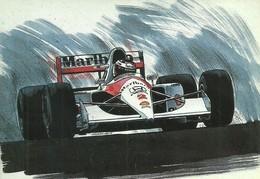 RACING MCLAREN HONDA CAR FORMULA ONE F 1 F1 * MARLBORO SMOKING CIGARETTE SHELL PAINTING * Gerencsér Attila 01 * Hungary - Turismo