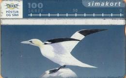 Iceland - ICE-D-14, L&G Siminn, Bird 3, 100 U, 15,000ex, 1995, Used As Scan - Iceland