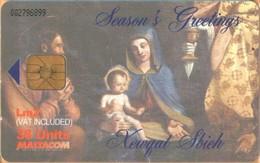 MALTA - MT-MLT-0212, Christmas 2001 Baby Jesus, 20,000ex, 12/01, Used As Scan - Malta
