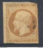 N°9 NUANCE ET OBLITERATION. - 1852 Luigi-Napoleone