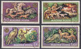 UNGHERIA - 1971 - Lotto Di Quattro Valori Usati: Yvert 2153/2156. - Hungary