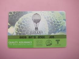 Thailand Sabady Product Quality Assurance Card, Hot Balloon - Telefonkarten