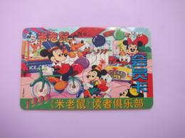 Walt Disney Readers Club Membership Card 1999', Mickey - Phonecards