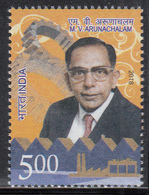 INDIA 2018 M V ARUNACHALAM, 1 Value MNH(**) - India