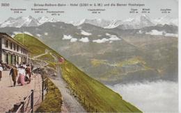 AK 0112  Brienz-Rothornbahn - Hotel Und Die Berner Alpen / Verlag Photoglob Um 1920 - BE Bern