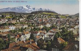 AK 0112  St. Gallen Mit Säntis / Verlag Photoglob Um 1920 - SG St. Gallen
