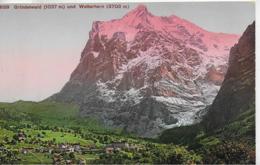 AK 0112  Grindelwald Und Wetterhorn - Verlag Photoglob Um 1910-20 - BE Bern