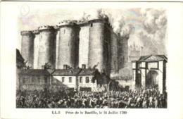 51dy 59 CPA - PRISE DE LA BASTILLE LE 14 JULLIET 1789 - Storia