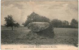 51go 241 CPA - SAINT LEONARD - MONUMENT DRUIDIQUE DU MASREVERY - Saint Leonard De Noblat