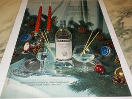 ANCIENNE PUBLICITE  MARIE BRIZARD A L EAU  1954 - Alcohols