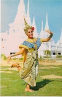 """5-THAILNDIA-A POSTURE OF """"LAKORA""""THAI THEATRICAL PLAY - Asia"""