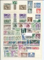 Belgium / La Belgie , Bigger Party Of Mint Stamps On Stock-pages  (as Per Scans) MNH - Sammlungen