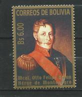 Bolivia 2005 Otto Felipe Braun.Landgraviate Of Hesse-Kassel.Germany. MNH - Bolivie